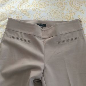 Ann Taylor business casual khaki colored pants
